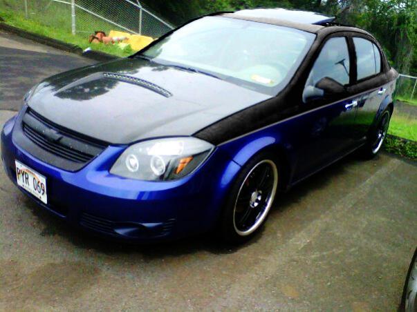Chrome Blue Paint For Car