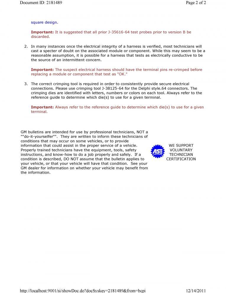 Tcm/bcm/power Steering/check Engine - Chevy Cobalt Forum