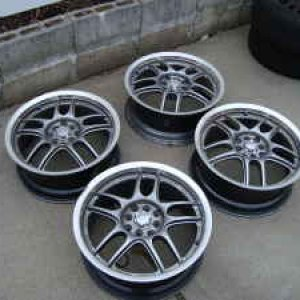 these are the rims at home for the car