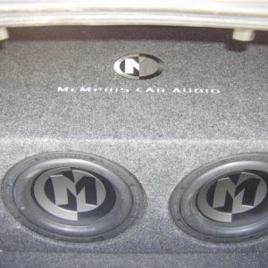 two menphis tens (in the ported box they slam)