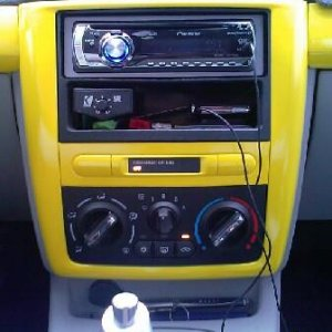 center stereo trim