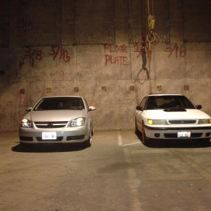 2 years ago, abandoned warehouse, next to another 2.2 but a subaru!