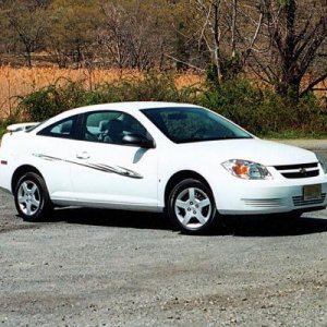 My 2006 Cobalt LS Coupe. Summit White. Now off Roster, lease ended 3/2010 and car returned to the lessor.